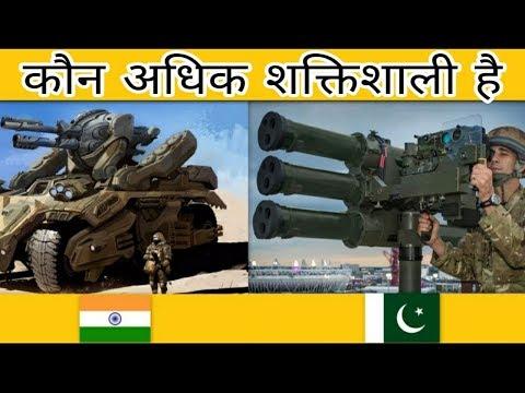 India vs Pakistan Military / Weapons Full Comparison 2019 | Hindi
