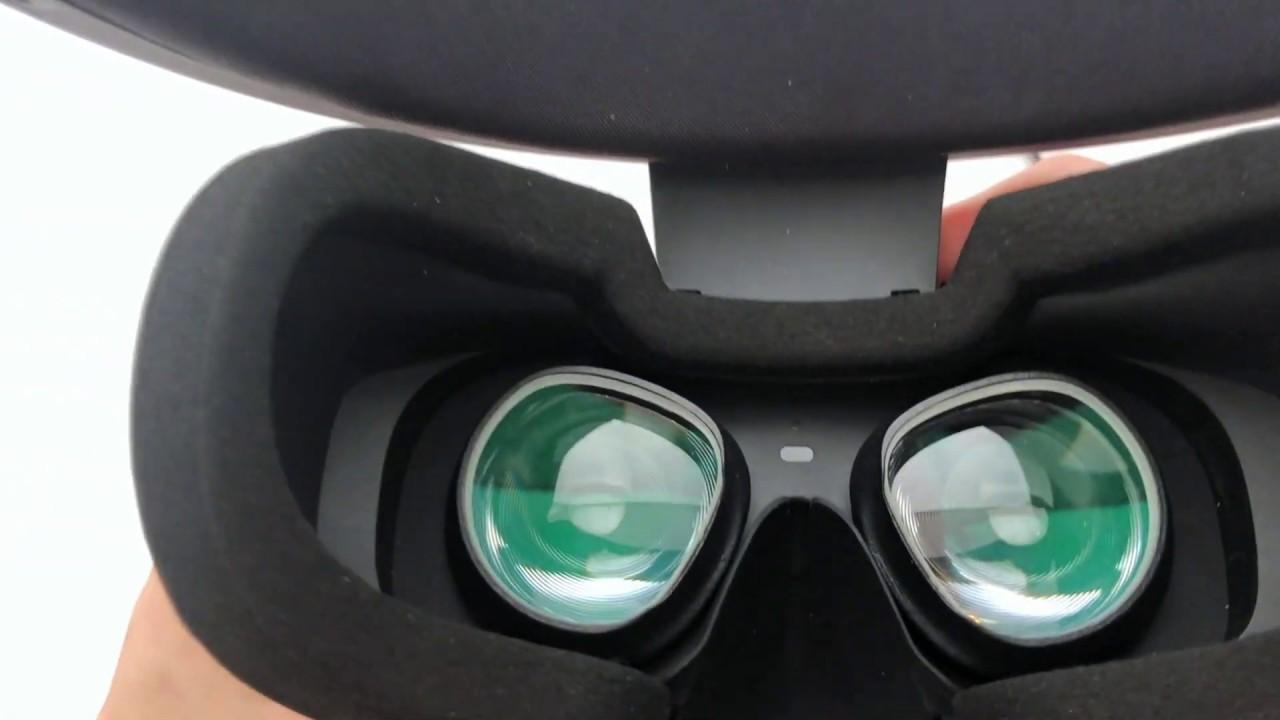Oculus Rift S VR Optician Prescription Lens installation