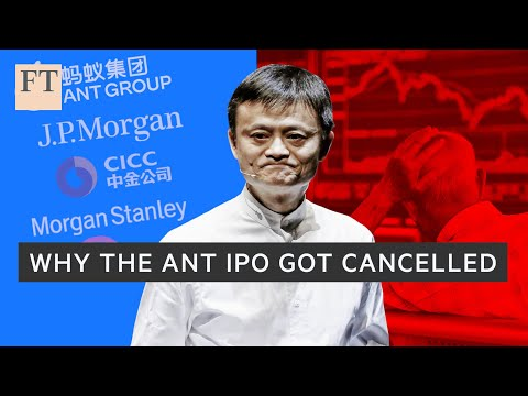 Why Beijing put a stop to the Ant IPO I FT