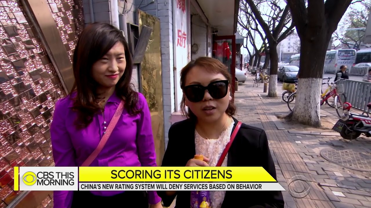 China Assigns Every Citizen A Social Credit Score , To Pressure People To Be Model Citizens