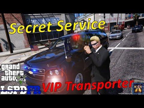 Secret Service VIP Armored Transport Patrol GTA 5 LSPDFR Episode 134