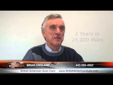 Columbia MD Best Auto Repair Shop - Tips from Brian England of British American Auto