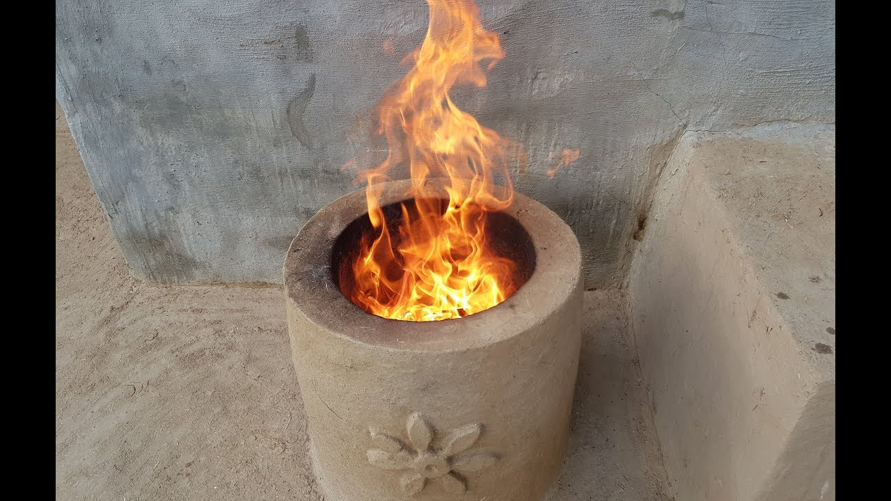 How to Make Tandoor Oven  Primitive Technology Clay Tandoor Oven  Home Made Mud Tandoor Oven
