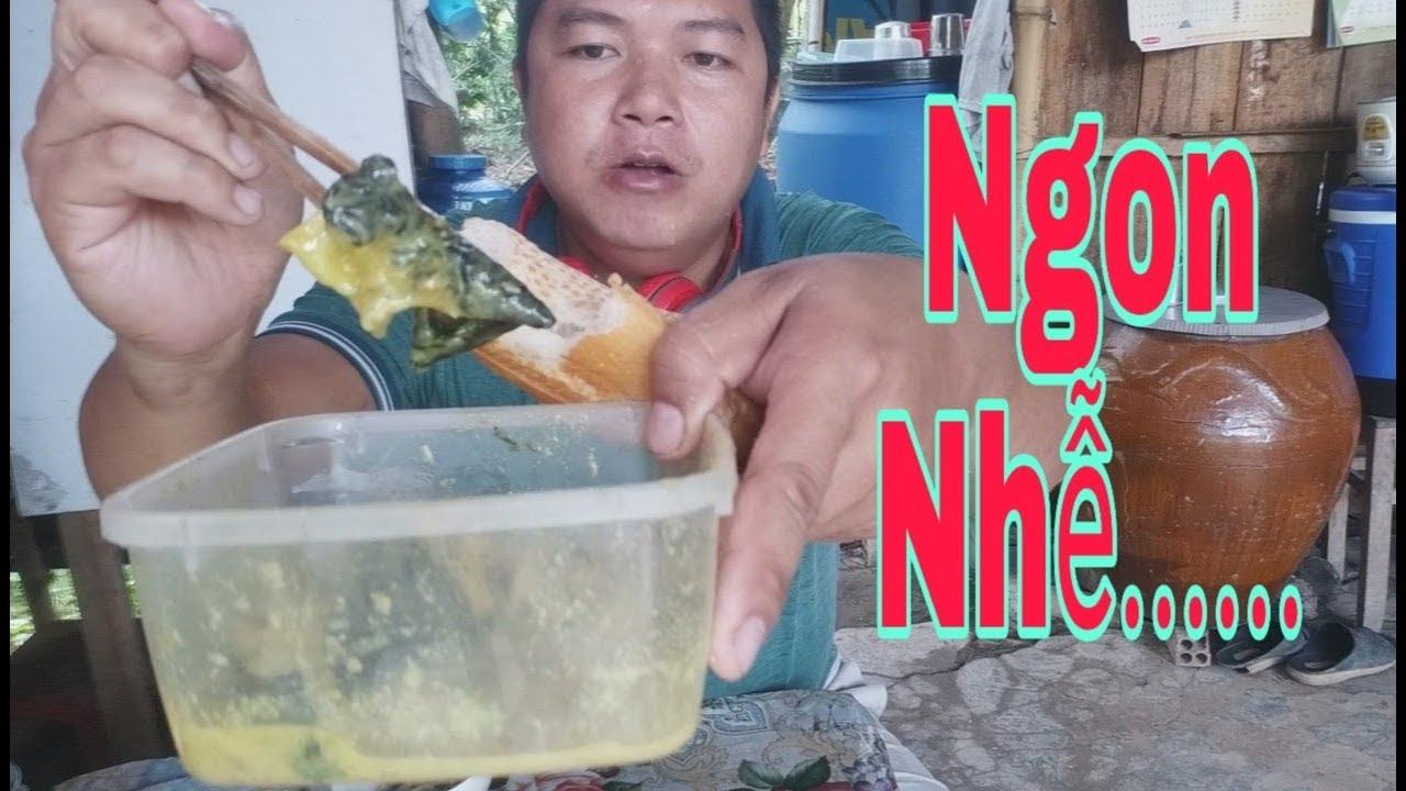 Vlog 60. Ăn Ếch Xào Lăn Chấm Bánh Mì.