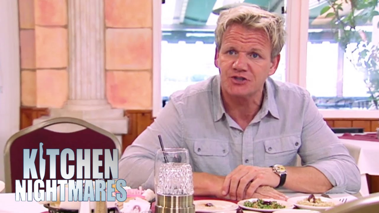 Restaurant Kitchen Nightmares chef finds hell at greasy greek restaurant - kitchen nightmares
