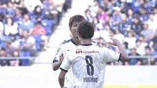 木本 恭生(C大阪)が右サイドからのクロスを頭で叩き込み、試合終了間...