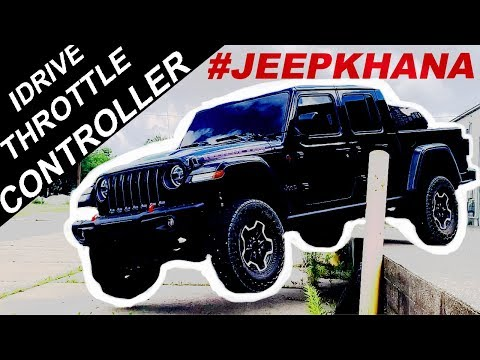 2020 Jeep Gladiator iDrive Throttle Controller