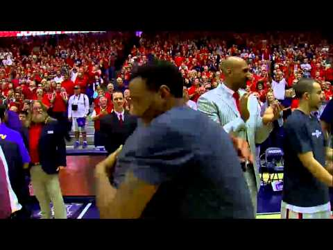 2014 Arizona Basketball Senior Ceremony