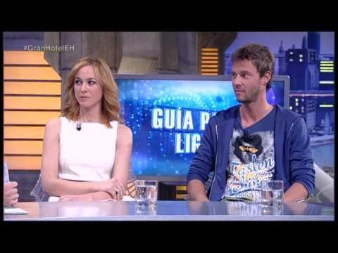 El Hormiguero: Guía para ligar con Marta Hazas y Eloy Azorín
