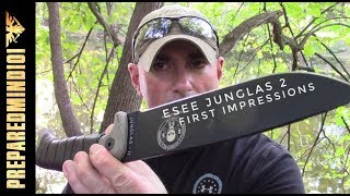 ESEE Junglas II First Look and Thoughts Preparedmind101