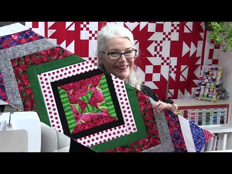 Flip and Stitch, Quilt as You Go Table Runner