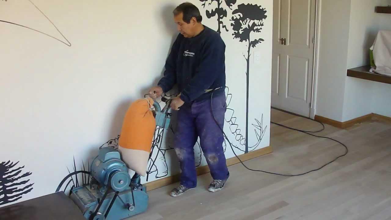 Pulido a maquina de piso de madera hidrolaqueado de piso plastificadora argentina 4501 1169 - Como se limpia el piso parquet ...