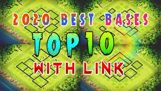 *Top 10* Town Hall 9 Bases + With Link 2020 | Th9🔝 War/Farming/Trophy Bases | Clash of Clans