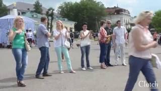 В Костроме умеют готовить похлёбку на любой вкус(В Костроме в рамках Фестиваля активного отдыха на набережной реки Волга прошел конкурс походной еды «Похле..., 2016-06-28T15:17:56.000Z)