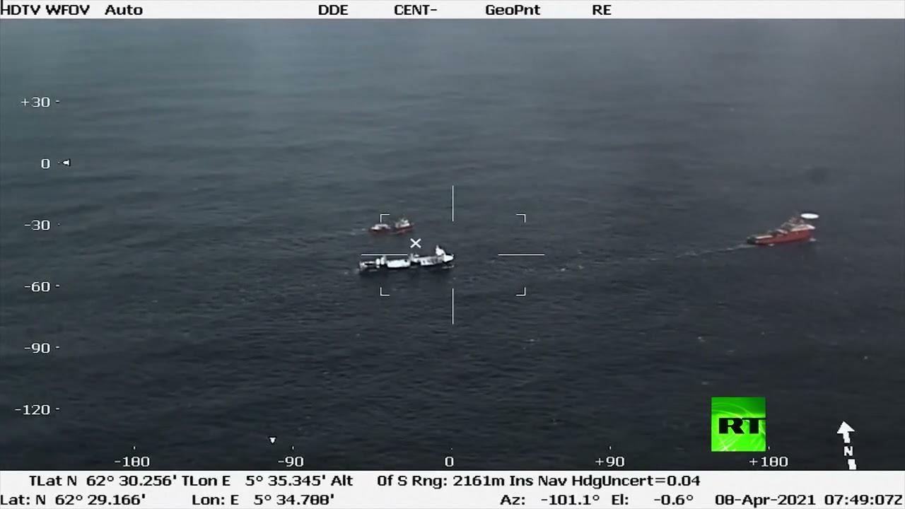 تأمين سفينة شحن هولندية بعد محاولة إنقاذ في المياه الهائجة  - نشر قبل 16 ساعة
