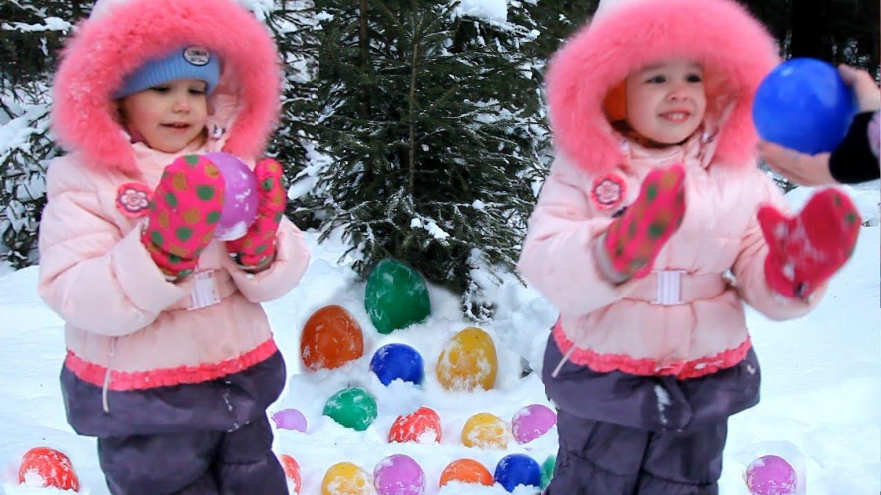Как сделать ледяные шары фото 597