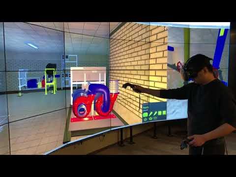 BIM VR CAVE