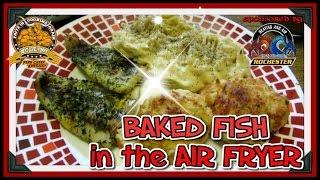 Cooks Essentials Air Fryer Baked Fish ...