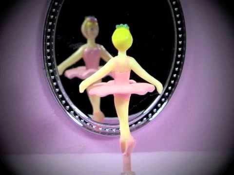 Ballerina Jewelry Music Box