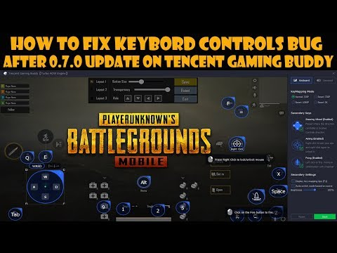 pubg-mobile-:-how-to-fix-keybord-controls-bug-after-0.7.0-update-on-tencent-gaming-buddy
