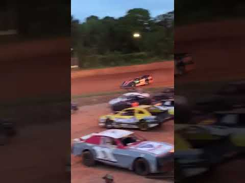 Lancaster motor speedway crate late model heat race