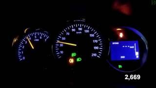 Renault Duster Diesel - Acceleration 0-100 km/h (Racelogic)