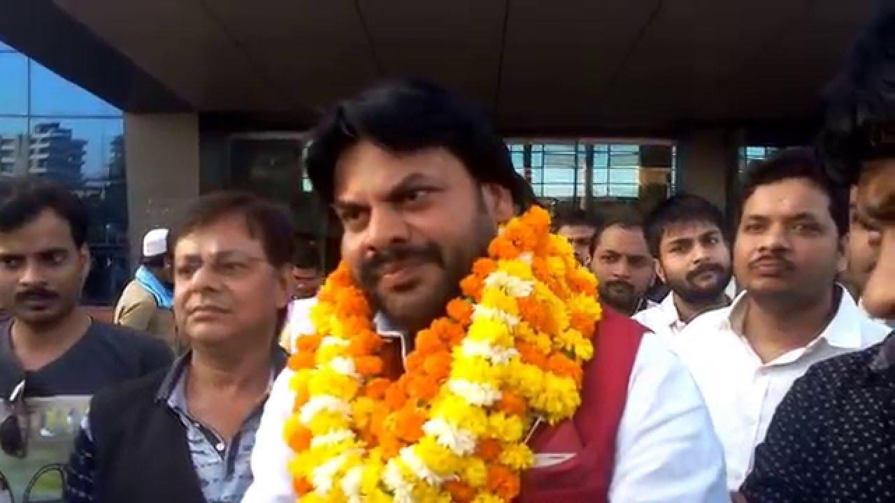 Sanjay Yadav MLA Karakat in Mumbai with Friends - YouTube