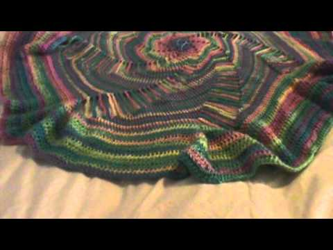 Redheart Free Patternspiral Afghanfair Entry Pattern