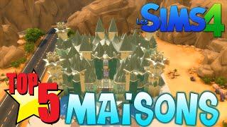 TOP 5 DES MAISONS SUR LES SIMS 4 !