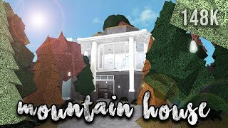Roblox | Welcome to Bloxburg: Mountain House | Speedbuild