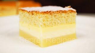 Проще не может быть! Волшебный торт - 1 тесто 3 слоя | Magic cake