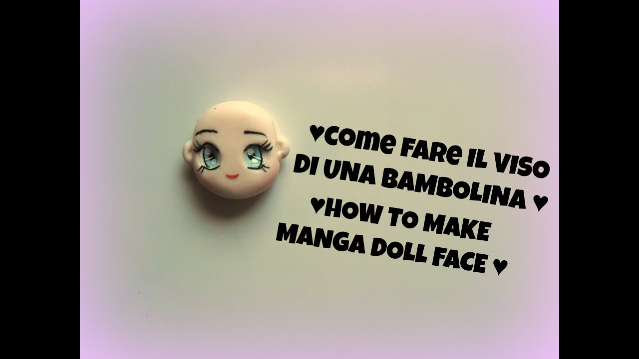 How to make polymer clay doll face tutorial fimo viso dollina how to make polymer clay doll face tutorial fimo viso dollina youtube baditri Images