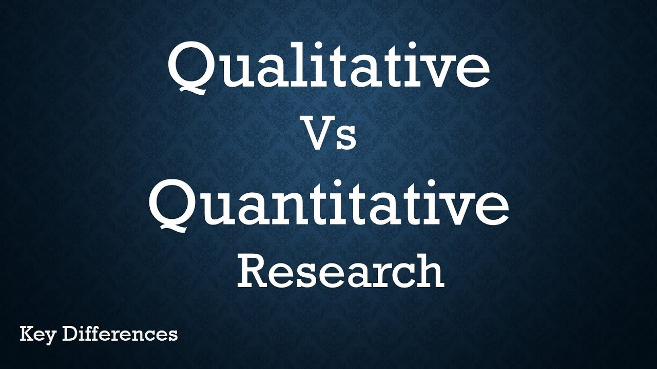 Difference Between Qualitative and Quantitative Research (With