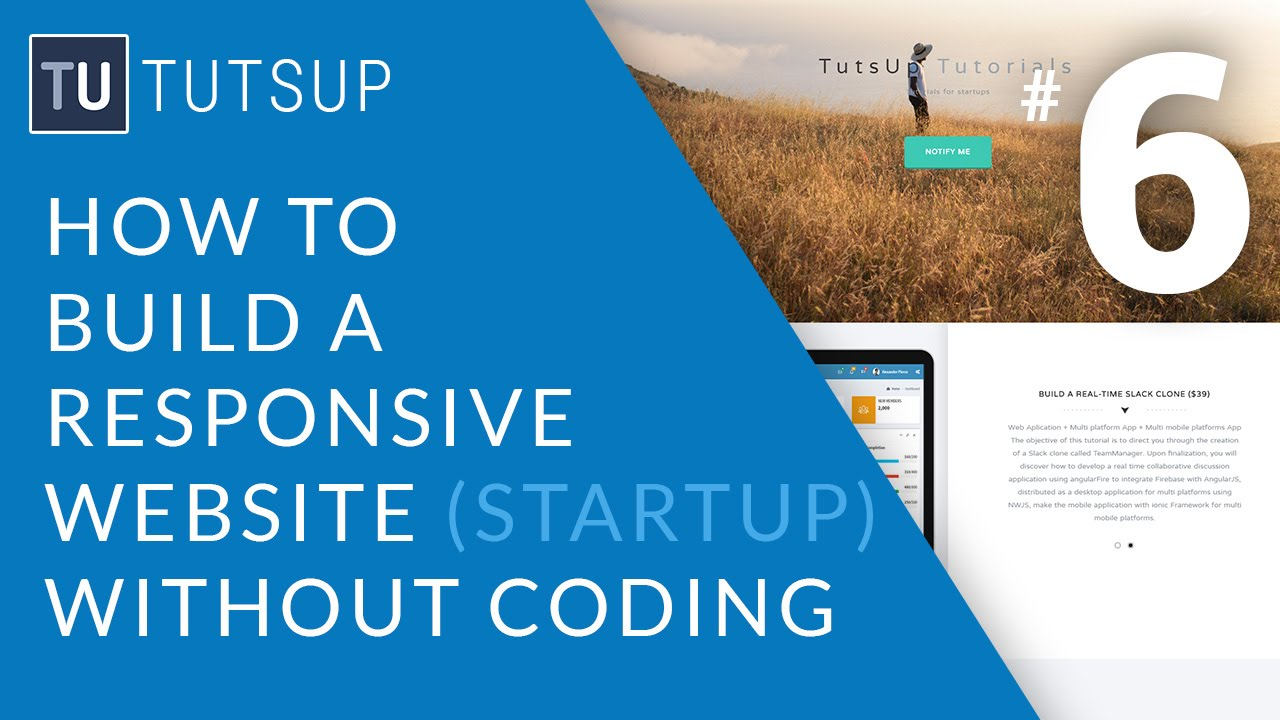 How to Build a Responsive Website without Coding - Setup MailChimp ...