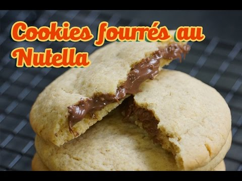 recette cookies fourr s au nutella comme chez starbucks. Black Bedroom Furniture Sets. Home Design Ideas