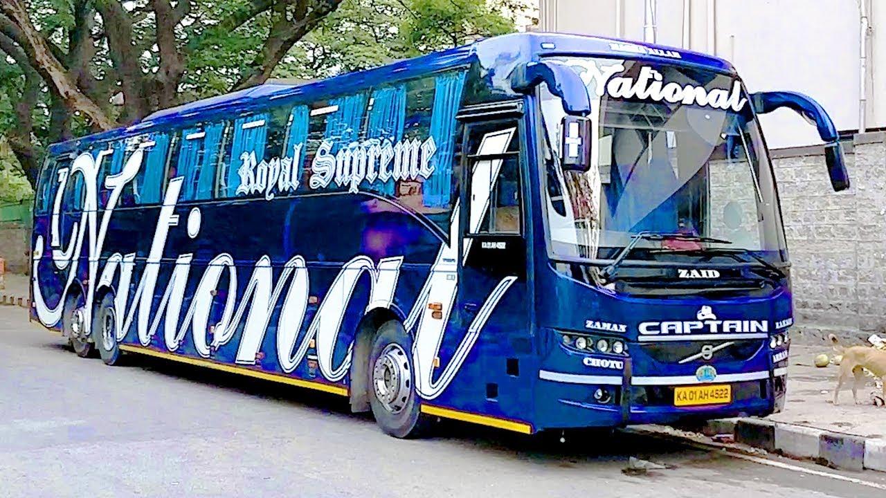 National Travels Captain Royal Supreme Premium Vehicle Volvo Bus 9400
