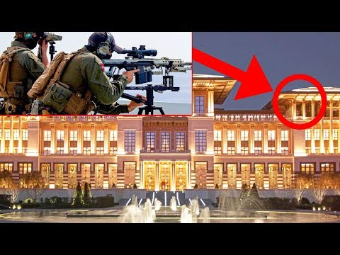 Cumhurbaşkanı Erdoğanın Sarayı Bakın Nasıl KORUNUYOR ? Türkiyenin En İyi Korunan Yeri..