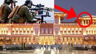 Cumhurbaşkanı Erdoğan'ın Sarayı Bakın Nasıl KORUNUYOR ? Türkiye'nin En İyi Korunan Yeri..