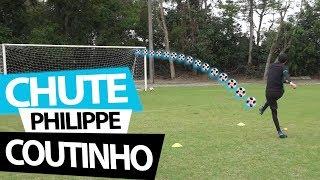 APRENDA O CHUTE DO PHILIPPE COUTINHO (Lances efetivos de futebol) {BZK}