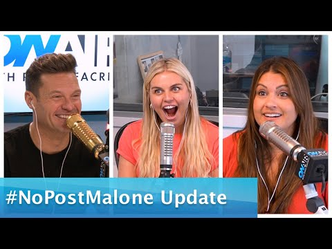 Ryan Seacrest - Tanya Rad Gives Ryan An Update on 'No Post Malone'