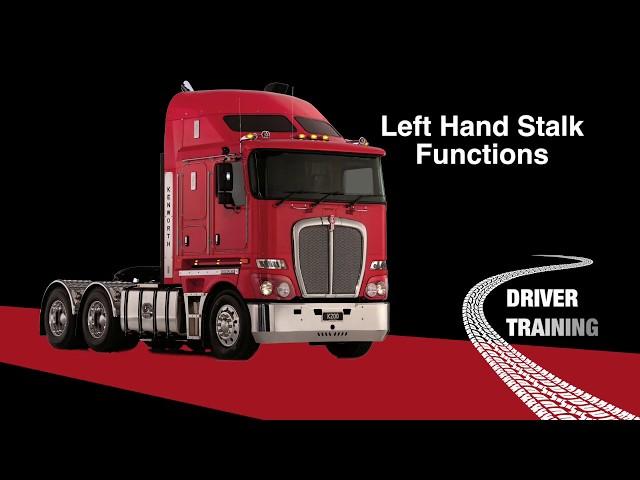 K200 Left hand stalk functions