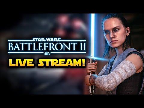 Star Wars Battlefront 2 LIVE - Intense Galactic Assault Battles!  Multiplayer Gameplay Live
