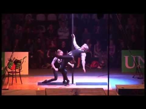 Univé Gym Gala 2014 - Chinese Pole - William & Heloise
