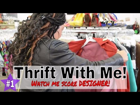 BEST THRIFT STORE FINDS EVER! | Thrifted Designer GIVENCHY! | THRIFT WITH ME | EP #1