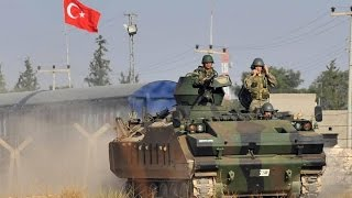 العمليات العسكرية التركية تتوسع الى منبج والرقة بشمال سوريا