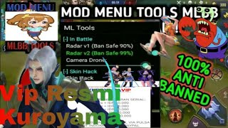 New Update Patch Ling Radar Maphack, Open All Skin, Drone View Vip Kuroyama Mobile Legends! 2019