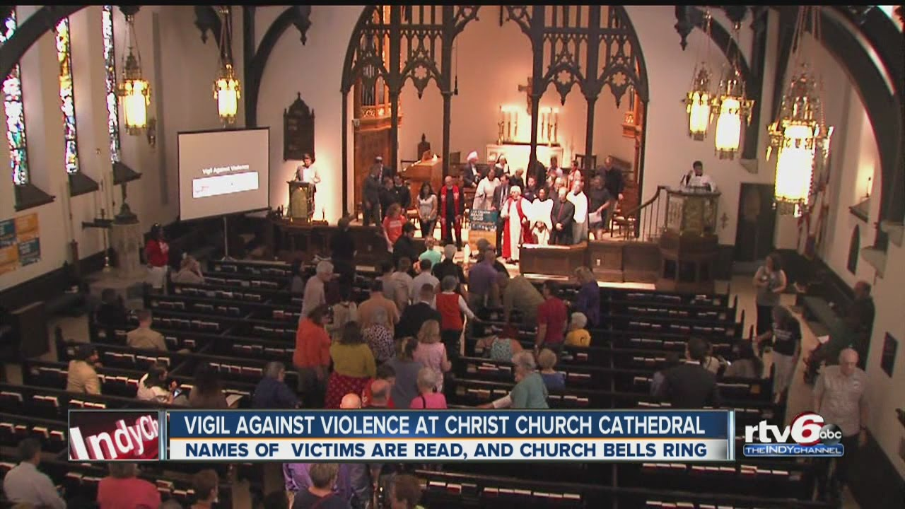 Christ Church Shootings Twitter: Vigil Held At Christ Church Cathedral For Victims Of