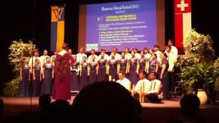 Montreux Choral Festival:  ATENEO DE MANILA COLLEGE GLEE CLUB