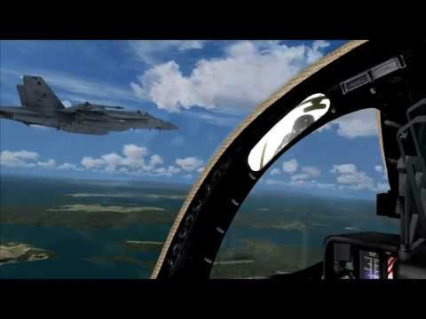 F-14D Tomcat Dog fighting (FSX & TACPACK)