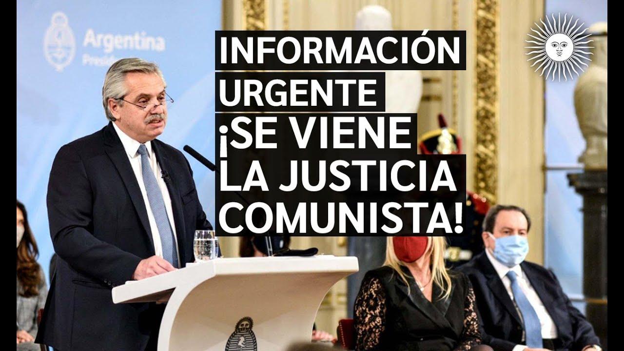 🚨 REFORMA JUDICIAL | Enterate lo que ALBERTO FERNANDEZ y el NOM preparan [VER Y COMPARTIR URGENTE]